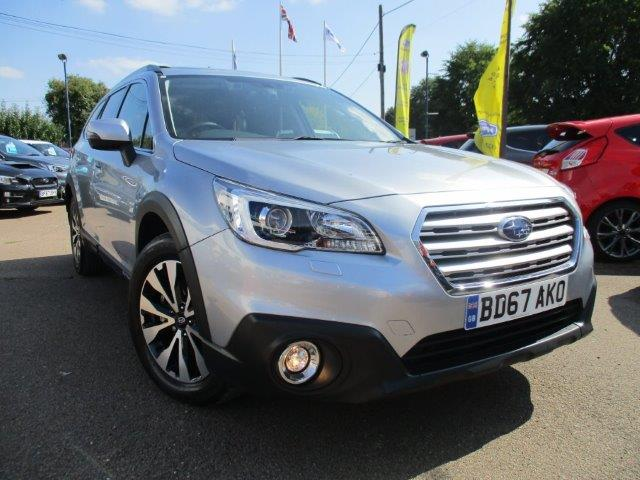 Silver Subaru Outback Essex for sale
