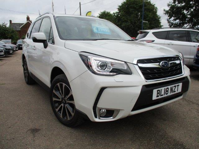 White Subaru Forester for sale