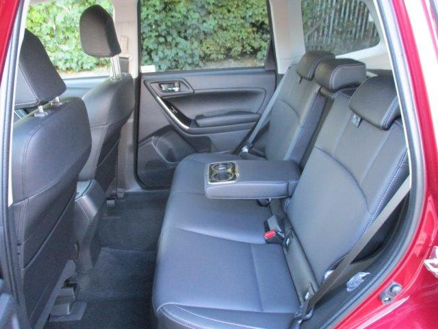 Forester Rear Interior Essex