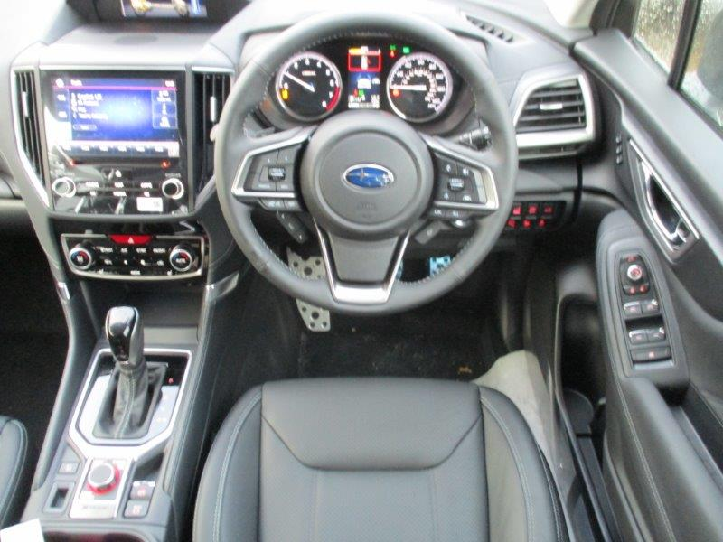 New Forester Subaru interior Braintree