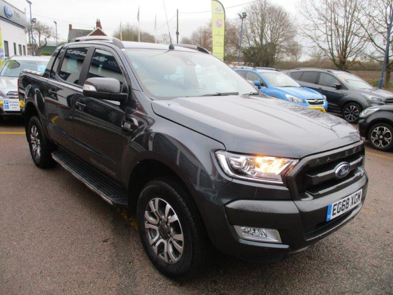 Used Ford Ranger Wildtrack for sale Braintree