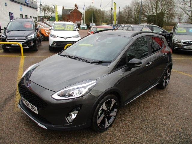 Used Fiesta Active Chelmsford