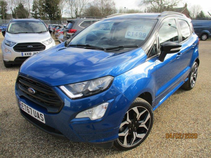 Ford Ecosport Automatic Braintree