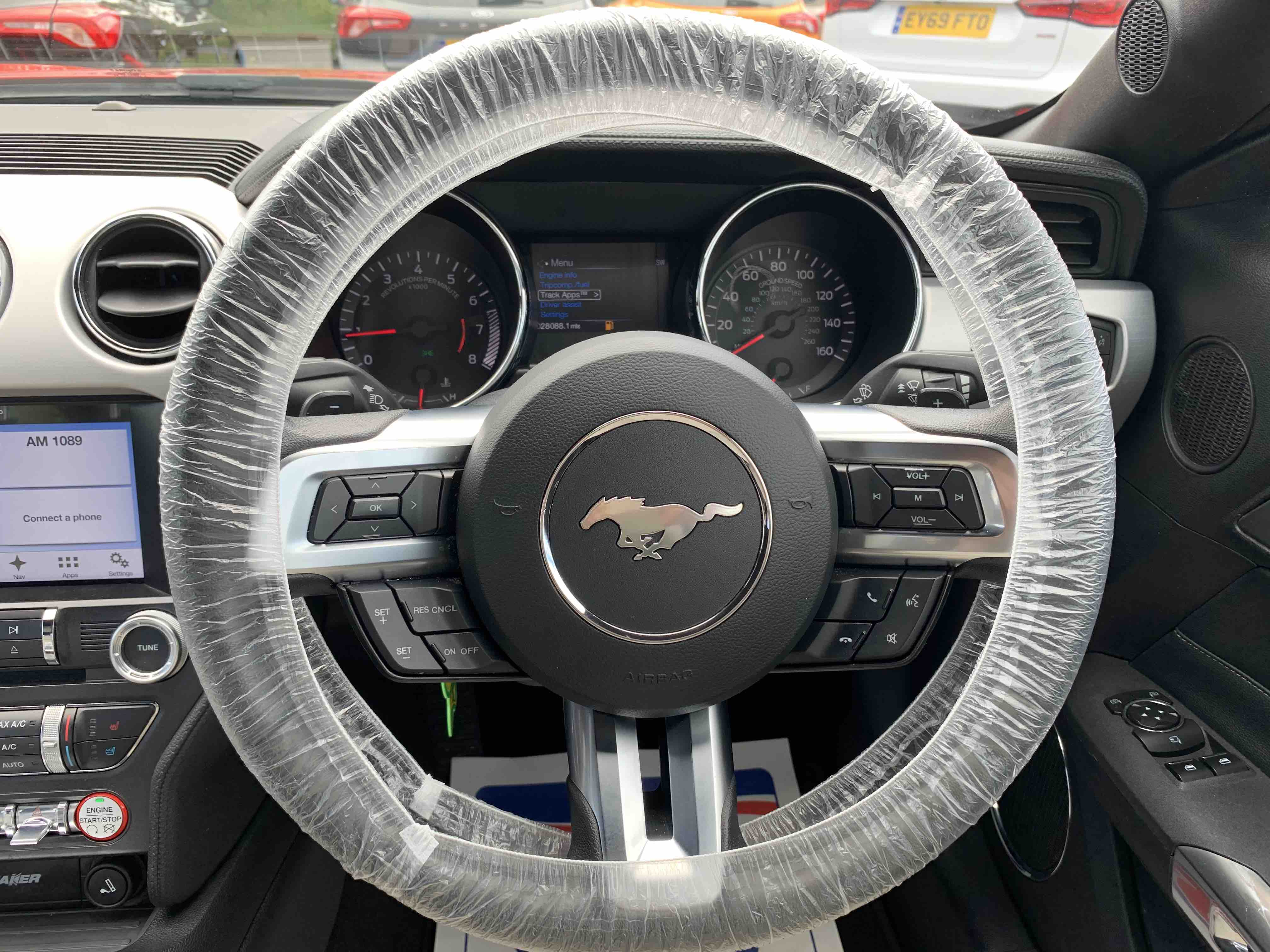 Used Mustang Interior Dunmow