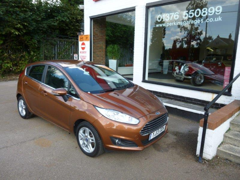 used fiesta tdci essex