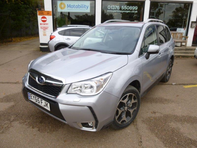 nearly new subaru for sale essex