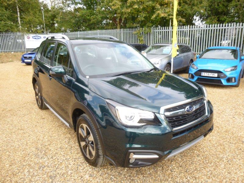 Nearly New Subaru Forester for sale Essex Chelmsford Braintree