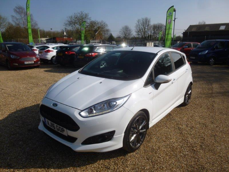 used fiesta st line for sale essex