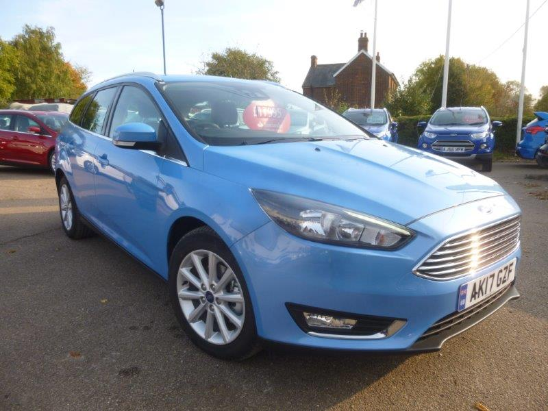 Used Ford Focus Titanium Automatic for sale Chelmsford Braintree Witham Colchester