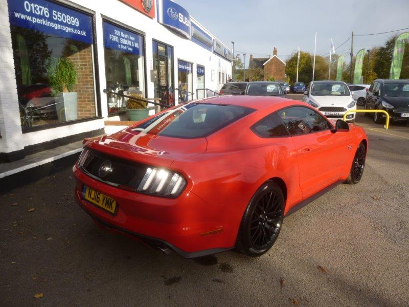 Used Mustang Chelmsford