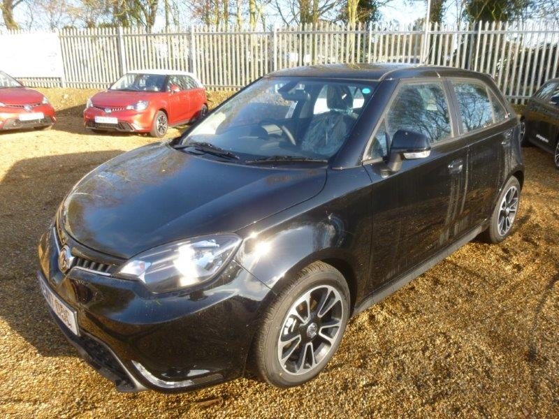 No deposit MG 3 deals low rate finance