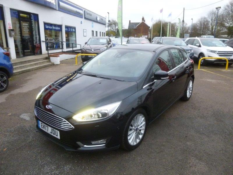 Nearly New Used Focus Automatic Titanium x for sale Essex